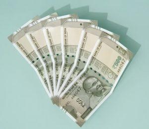 500 Rupee Scheine