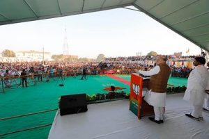 Wahlen in Indien sind ein großes Thema