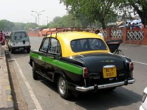 Indisches Taxi - Ambassador