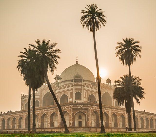 Alter Tempel in Delhi