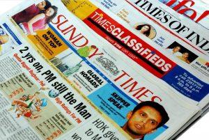 Indische Tageszeitung