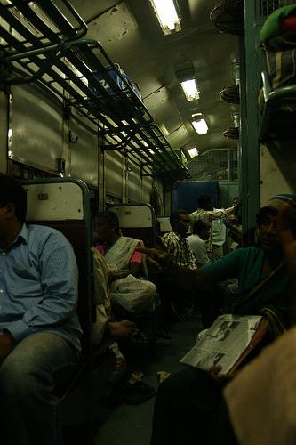 """Indischer Zug - Die """"zweite"""" Klasse"""