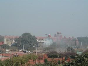 Lotus Temple in Neu Delhi - Oase für einige Minuten Pause