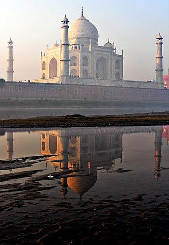 Taj Mahal - Die Rückseite (auch freitags)