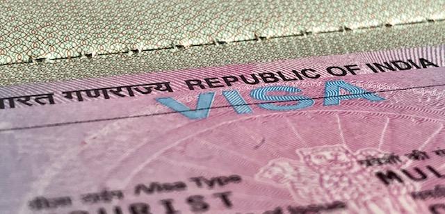Visum für Indien