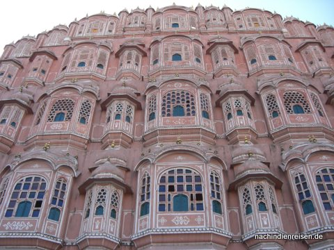 Palast der Winde - Nichts außer der Fassade